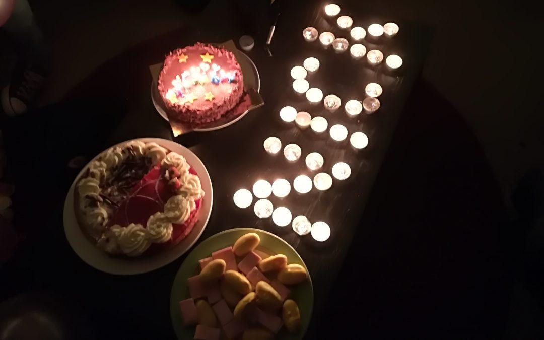 Mijn mooiste verjaardag tot nu toe.