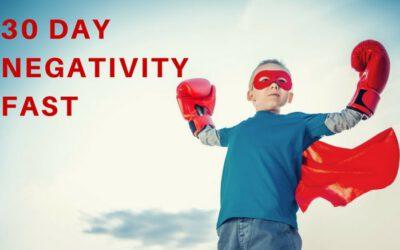 Tijd om negativiteit te vasten